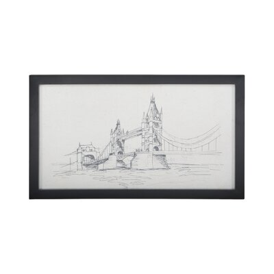 'Tower Bridge' Painting Print