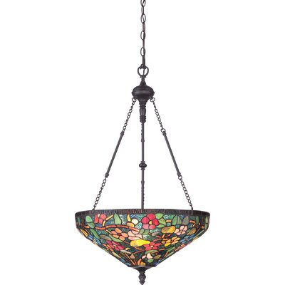 Savoy 4 Light Bowl Pendant