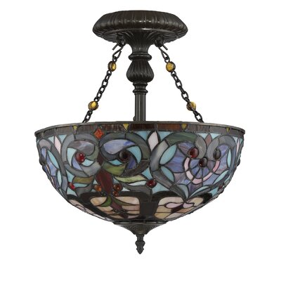 Remy 2-Light Semi Flush Mount