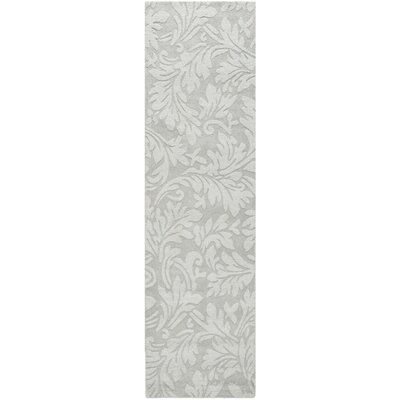 Sarah Modern Grey Area Rug Rug Size: Rectangle 6 x 6