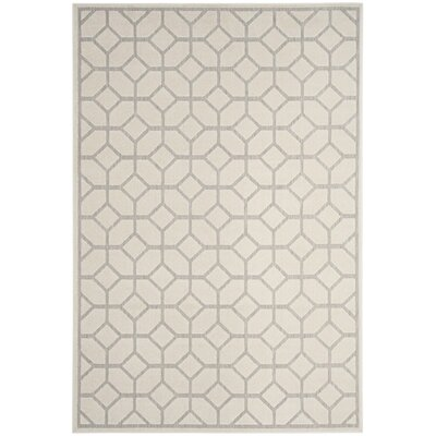 San Michele Light Grey/Cream Outdoor Area Rug