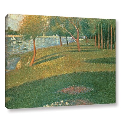 'La Grande Jatte' by Georges Seurat Painting Print on Wrapped Canvas