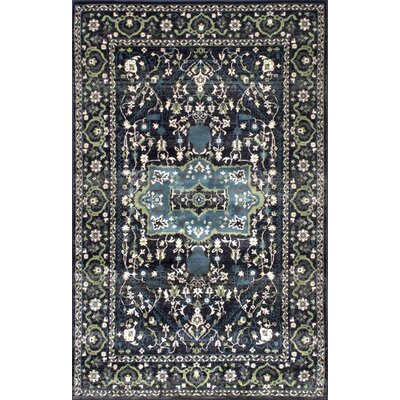 Shelburne Dark Gray Area Rug Rug Size: 5' x 8'