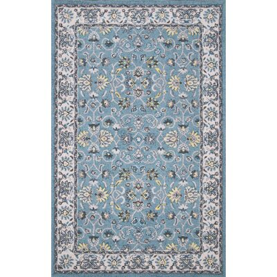 Iyed Hand-Tufted Turquoise Area Rug Rug Size: Rectangle 76 x 96