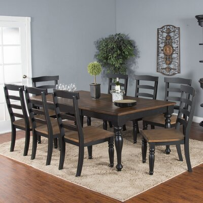 Patenaude 9 Piece Dining Set