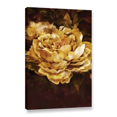 Floral Painting Print on Wrapped Canvas