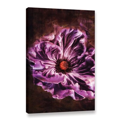 Royal Purple Graphic Art on Wrapped Canvas