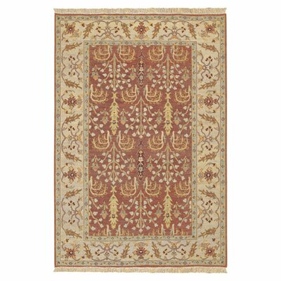 Mathilda Cognac Rug Rug Size: Rectangle 6 x 9
