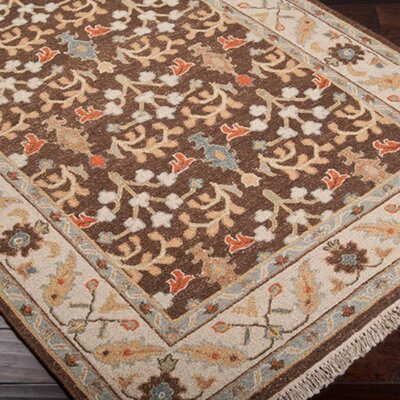 Rupert Brown Rug Rug Size: Rectangle 2 x 3