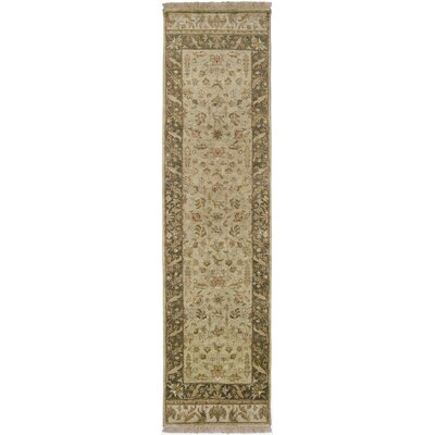 Harrell Tan Rug Rug Size: Runner 26 x 10