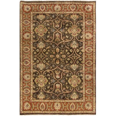 Harrell Chocolate Rug Rug Size: 8 x 11
