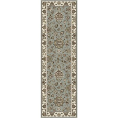 Wiley Hand-Knotted Dark Brown/Olive Area Rug Rug size: Runner 2'6