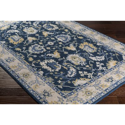 Crandon Rectangle Blue/Gray Area Rug Rug Size: Rectangle 8 x 11