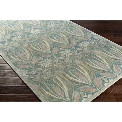 Acton Hand-Tufted Blue/Gray Area Rug Rug Size: 2 x 3