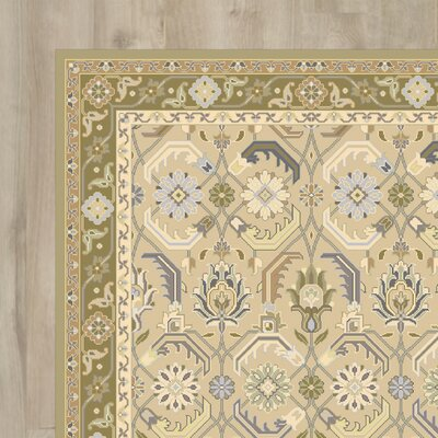 Cartensen Beige Area Rug Rug Size: Rectangle 9 x 12