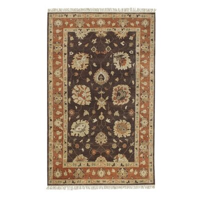Glenn Brown/Tan Area Rug Rug Size: Runner 26 x 10