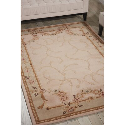 Beams Hand-Tufted Beige/Green Area Rug
