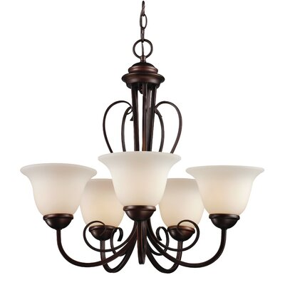 Barrera 5-Light Shaded Chandelier