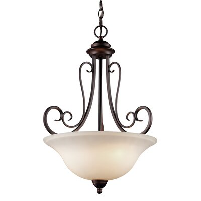 Barrera 1-Light Bowl Pendant