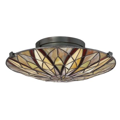 Hubbardston 2-Light Flush Mount