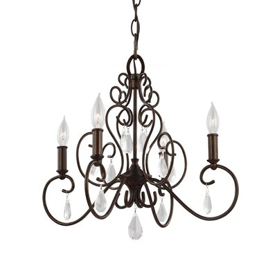 Langley 4 Light Candle-Style chandelier