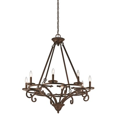 Alland 8-Light Candle-Style Chandelier