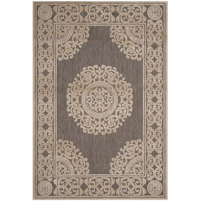 Parsons Taupe Area Rug Rug Size: Rectangle 4 x 6