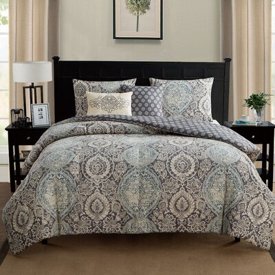 Eustis Reversible Comforter Set Size: Twin/Twin XL