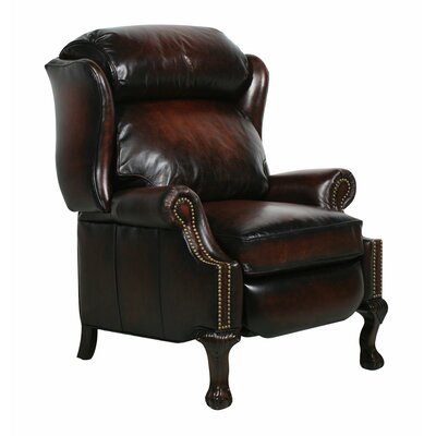 Merryman Recliner Type: Manual, Upholstery: Steson Coffee