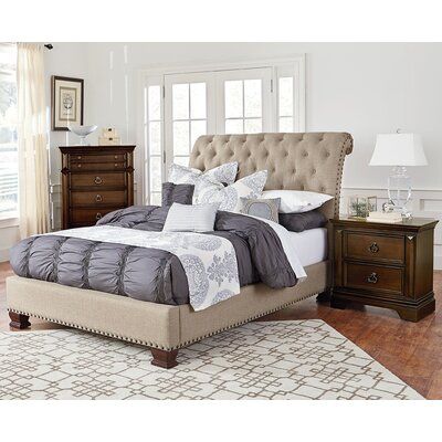Parthena Platform Customizable Bedroom Set