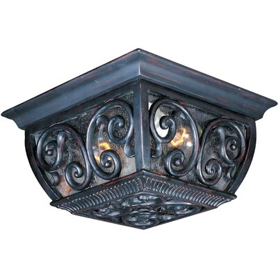 Isaacson 2-Light Flush Mount
