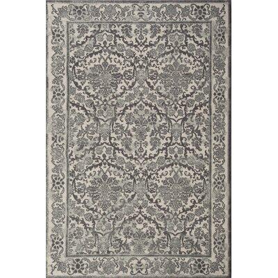 Sagebrush Ivory/Grey Area Rug Rug Size: 10 x 14