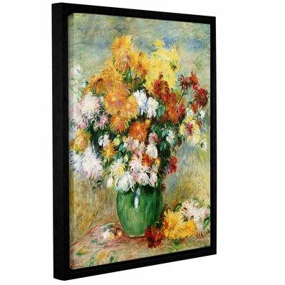 Bouquet Of Chrysanthemums, 1884 by Pierre Renoir Framed Painting Print