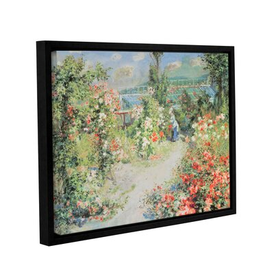 'The Conservatory' by Pierre Renoir Framed Painting Print