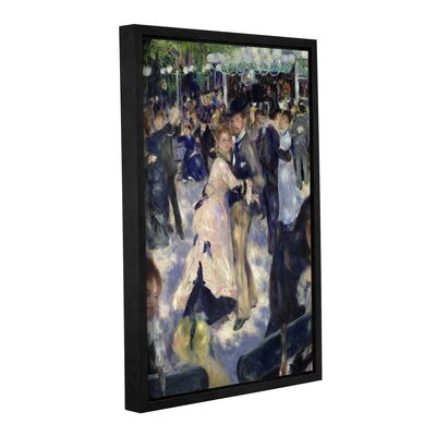 'Le Moulin De La Galette, Detail Of The Dancers, 1876' by Pierre Renoir Framed Painting Print