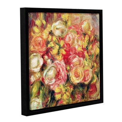 'Roses, 1915' by Pierre Renoir Framed Painting Print