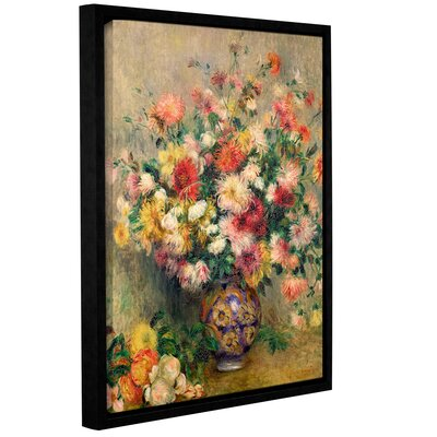 'Dahlias' by Pierre Renoir Framed Painting Print