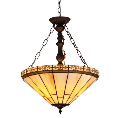Dupont 2 Light Inverted Pendant