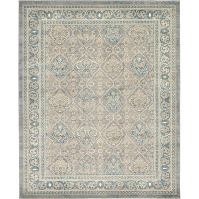Kerensa�Gray Area Rug Rug Size: Rectangle 8 x 10