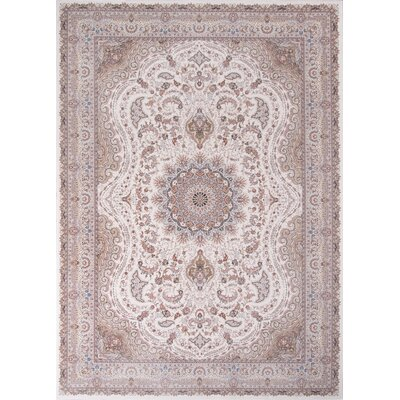 Ponton Ivory Area Rug Rug Size: Rectangle 67 x 910