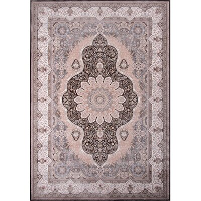Ponton Charcoal Area Rug Rug Size: Rectangle 53 x 77