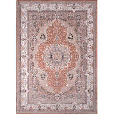 Ponton Rose Area Rug Rug Size: Rectangle 53 x 77