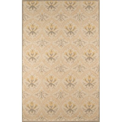 Suzanne Hand-Tufted Beige Area Rug Rug Size: Rectangle 8 x 10