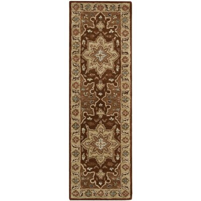 Lunada Chocolate Area Rug Rug Size: Runner 2' x 7'