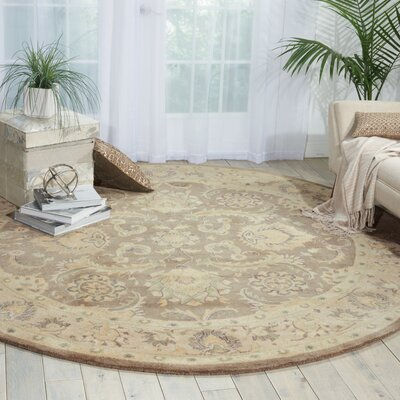 Fullmer Taupe Area Rug Rug Size: 3'9