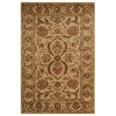 Fullmer Ivory Area Rug Rug Size: Rectangle 39 x 59