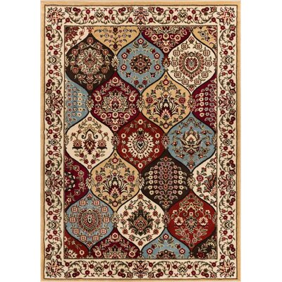 Ellesborough Wentworth Panel Ivory Area Rug