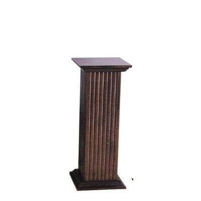 Elton Fluted Pedestal Table