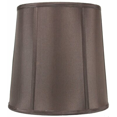 Premium Deluxe 12 Silk/Shantung Drum Lamp Shade Color: Chocolate