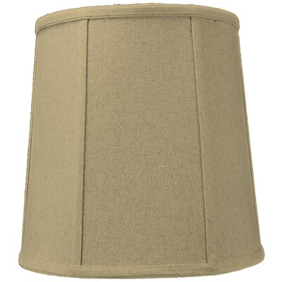 Premium Deluxe 12 Silk/Shantung Drum Lamp Shade Color: Sand Linen